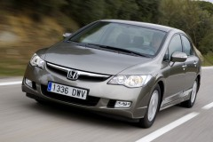 Honda Civic sedana foto attēls 12