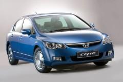 Honda Civic sedana foto attēls 17