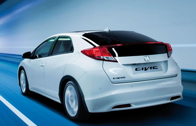 2012 Honda Civic Tire Pressure >> Honda Civic Hatchback 2012 - reviews, technical data, prices
