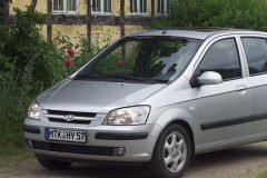 Hyundai Getz hečbeka foto attēls 6