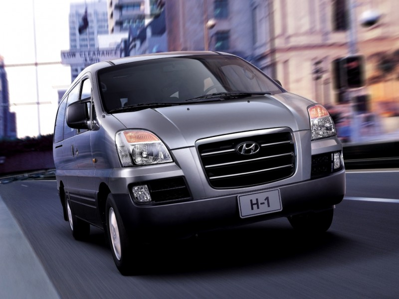 Hyundai H1 Minivan Mpv 2004 2006 Technical Data Prices