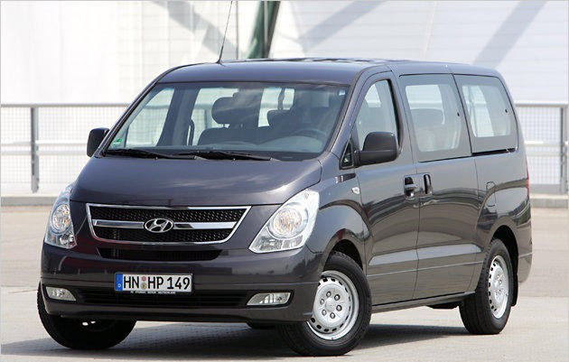 hyundai h1 minivan mpv 2007 technical data prices. Black Bedroom Furniture Sets. Home Design Ideas