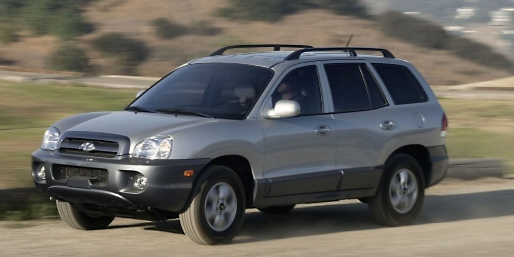 hyundai santa fe 2004 2006 reviews technical data prices auto abc