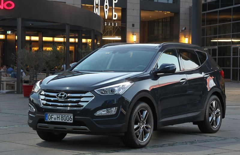 Hyundai Santa FE 2012 foto attēls