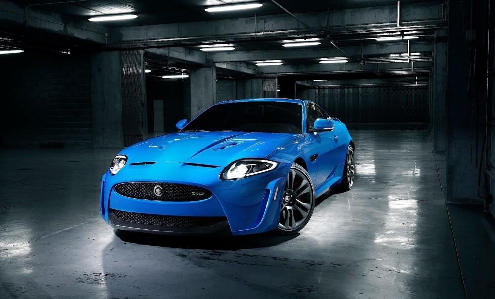 Jaguar XKR S Bleu Fond décran HD   Elegant Wallpapers