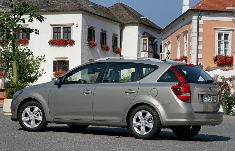 Kia Ceed Estate Car Wagon 2009 2012 Reviews Technical