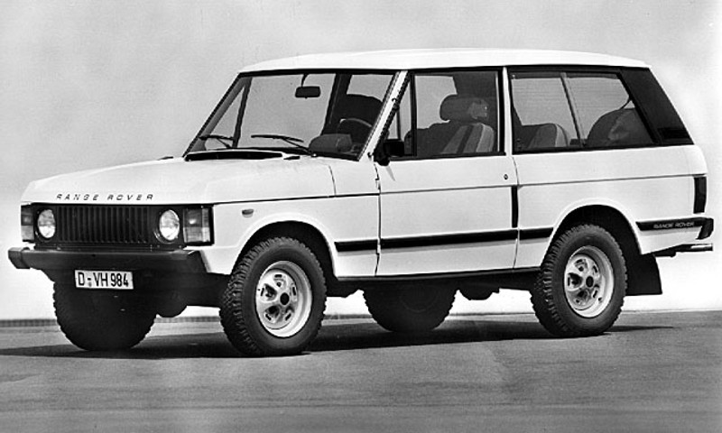 Land Rover Range Rover 1988 foto attēls