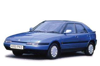 Mazda 323 1991 foto attēls
