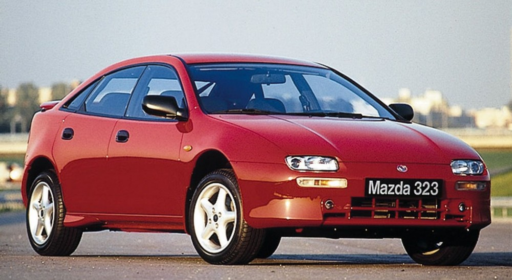 mazda 323 hatchback 1994 - 1997 reviews, technical data, prices