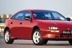 Mazda 323 hečbeka foto attēls 2