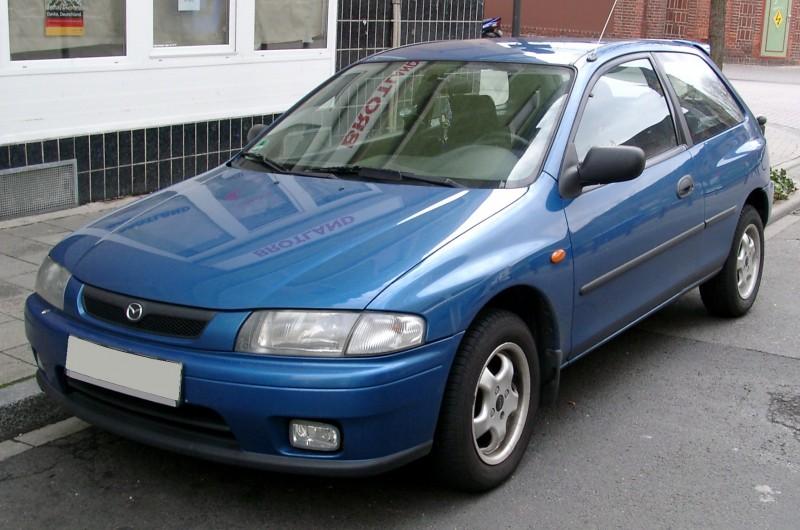 Mazda 323 1998 foto attēls