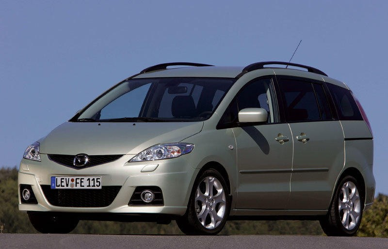 Mazda 5 Minivan Photo Image 6