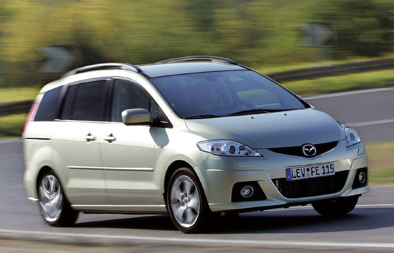 Mazda 5 Minivan Mpv 2008 2010 Reviews Technical Data