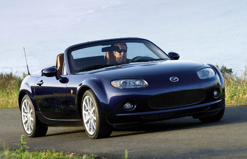 mazda mx 5 cabrio 2006 2009 reviews technical data prices. Black Bedroom Furniture Sets. Home Design Ideas