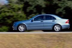 Mercedes C klases sedana foto attēls 5