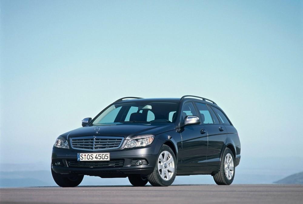Mercedes C klase 2007 foto attēls