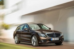 Mercedes C class estate car photo image 9