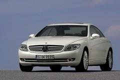 Mercedes CL kupejas foto attēls 5