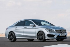 Mercedes CLA coupe photo image 19
