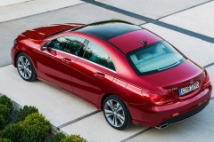 Mercedes CLA coupe photo image 1