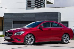Mercedes CLA coupe photo image 16