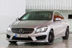 Mercedes CLA coupe photo image 14