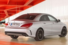 Mercedes CLA coupe photo image 4