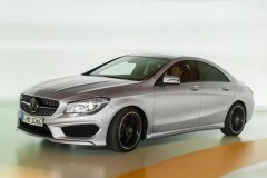 Mercedes CLA coupe photo image 6