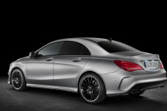Mercedes CLA coupe photo image 7