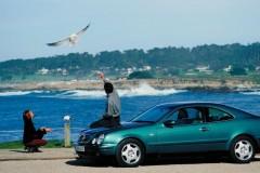 Mercedes CLK kupejas foto attēls 8