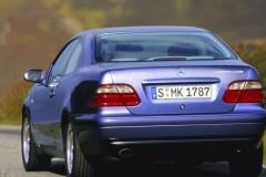 Mercedes CLK kupejas foto attēls 6