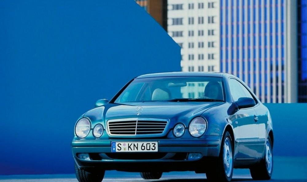 Mercedes CLK 1997 foto attēls