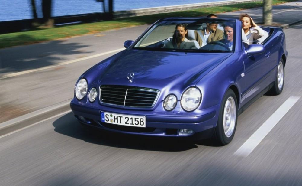Mercedes CLK 1998 foto attēls