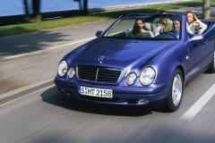 Mercedes CLK kabrioleta foto attēls 5