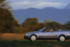 Mercedes CLK kabrioleta foto attēls 6