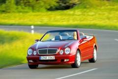 Mercedes CLK kabrioleta foto attēls 4
