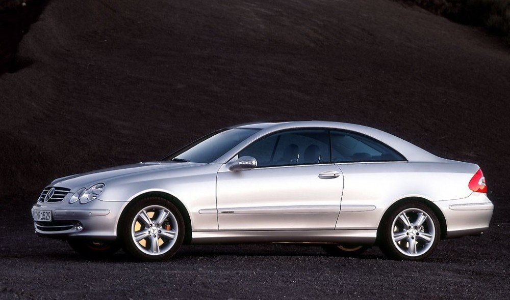 mercedes clk coupe 2002 2005 reviews technical data prices. Black Bedroom Furniture Sets. Home Design Ideas