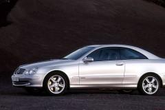 Mercedes CLK kupejas foto attēls 10