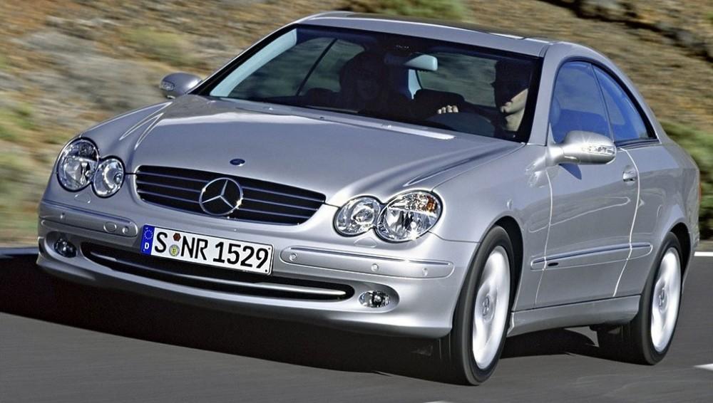 Mercedes CLK 2002 foto attēls