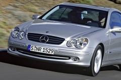 Mercedes CLK kupejas foto attēls 7