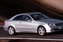 Mercedes CLK kupejas foto attēls 5