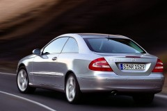 Mercedes CLK kupejas foto attēls 3