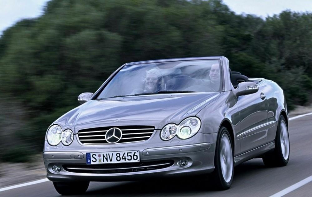 Mercedes CLK 2003 foto attēls