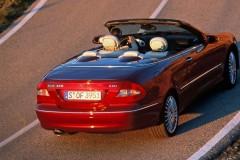 Mercedes CLK kabrioleta foto attēls 10