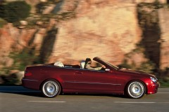 Mercedes CLK kabrioleta foto attēls 2