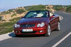 Mercedes CLK kabrioleta foto attēls 7