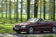 Mercedes CLK kabrioleta foto attēls 1