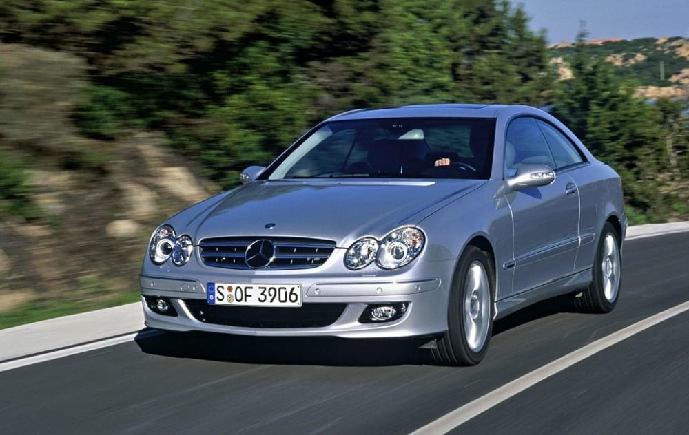 Mercedes CLK 2005 foto attēls