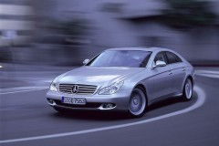 Mercedes CLS kupejas foto attēls 5