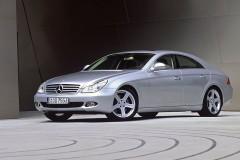 Mercedes CLS kupejas foto attēls 8